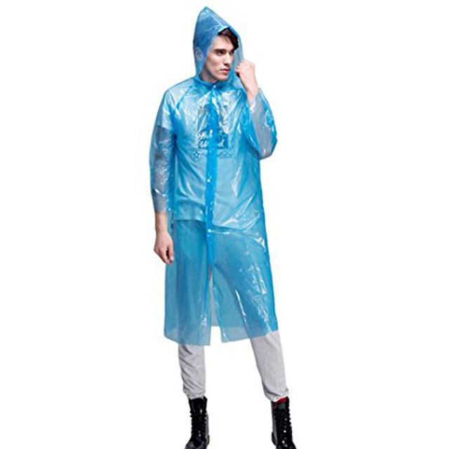 China Wholesale Rain Cape Suppliers - Disposable raincoat with buttons for travelling – Tengxing