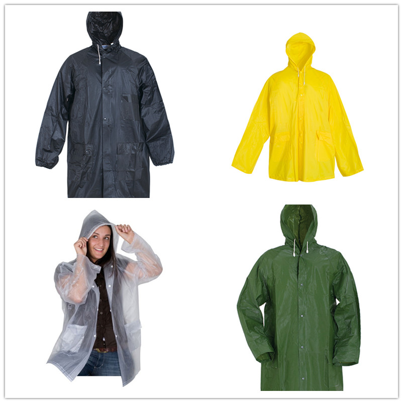 China Wholesale Outdoor Raincoat Quotes - factory sale waterproof pvc rain jacket rain coat – Tengxing