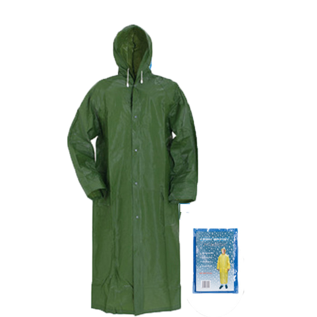 China Wholesale Waterproof Disposable Raincoat Manufacturers - Custom New Design Waterproof fabric Reusable Pvc Raincoat – Tengxing