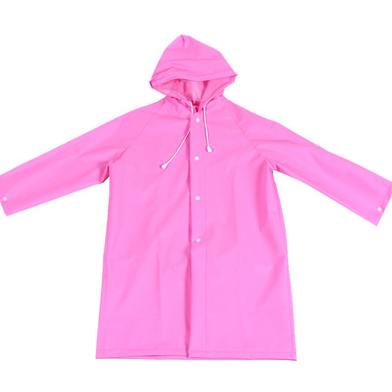 China Wholesale Waterproof Raincoat Manufacturer - PEVA rain poncho recycle raincoat with buttons – Tengxing
