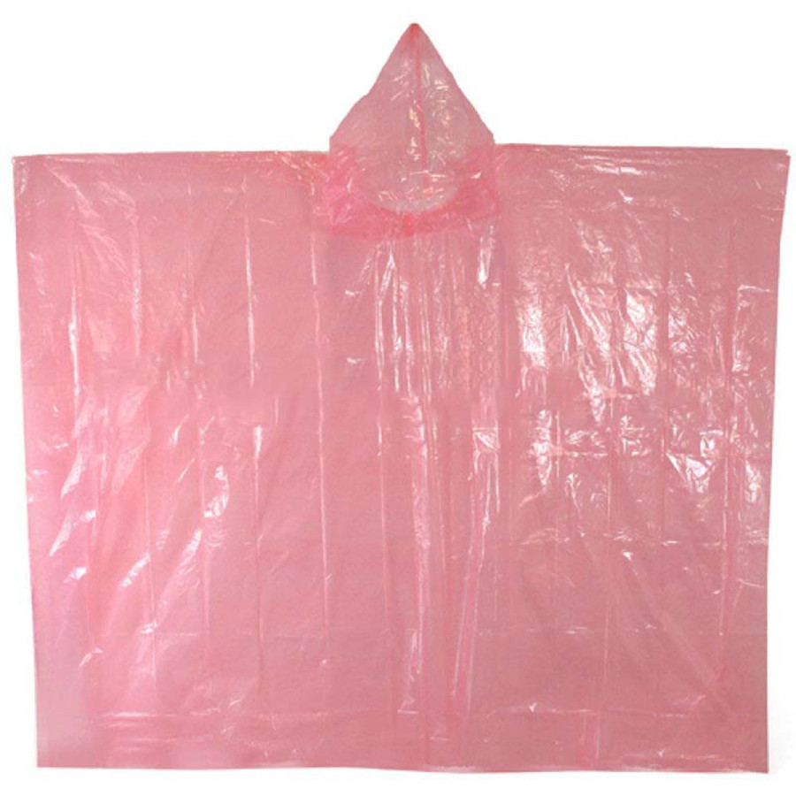 Colorful Disposable PE Rain Ponchos