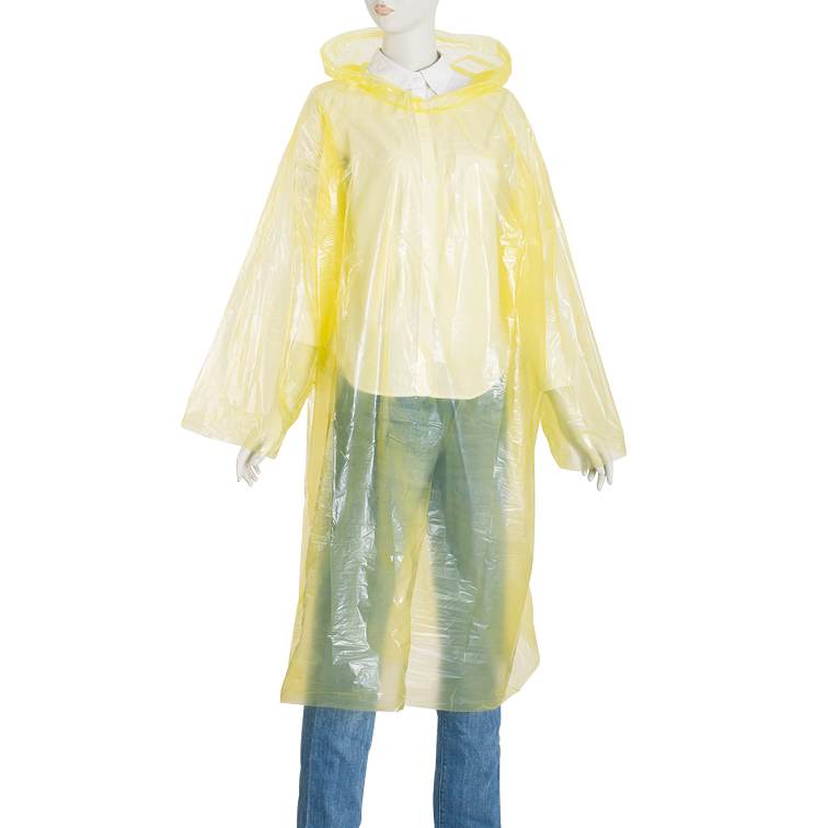 China Wholesale Emergency Reusable Raincoat Suppliers - PE rain suit for drifting free size – Tengxing