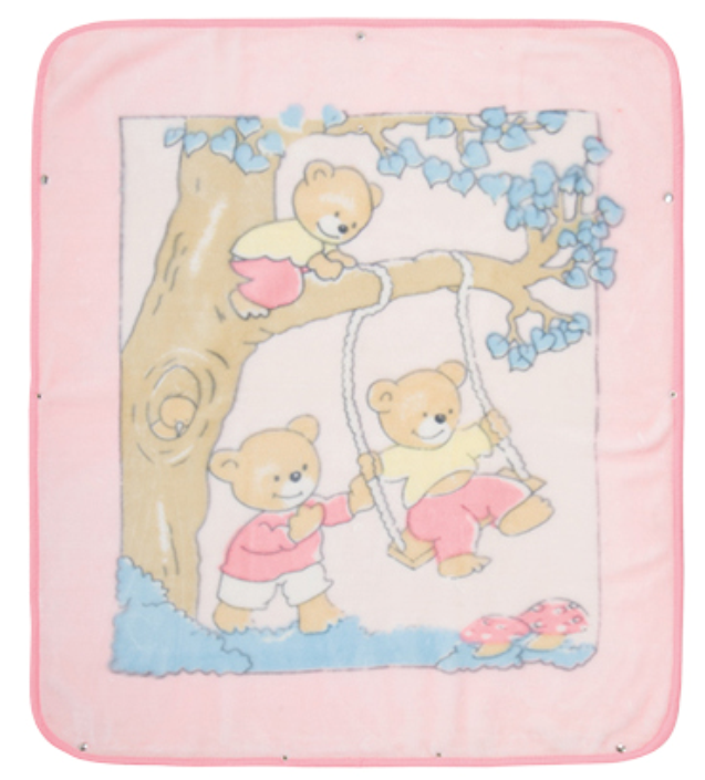 China Wholesale Girl Shoes Manufacturers - cheapest polyester baby blanket – Tengxing