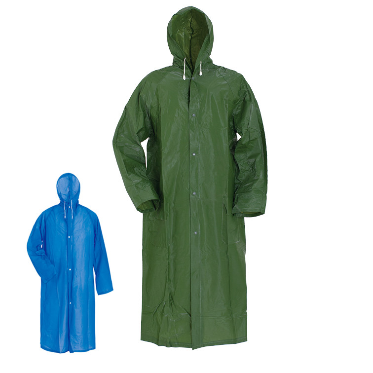 Factory sale waterproof  adult long raincoat Featured Image