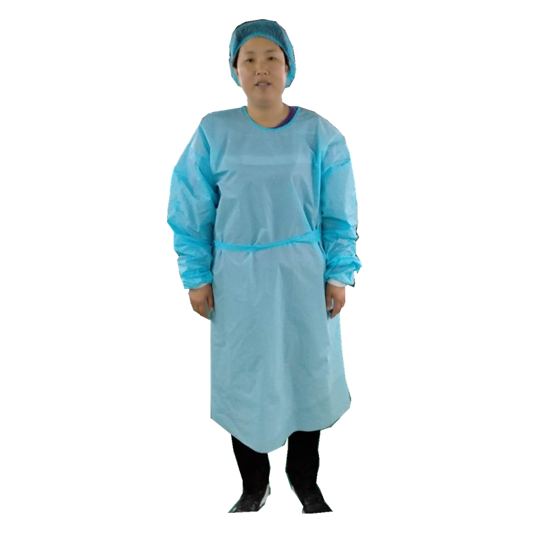 China Wholesale Protective Suit Suppliers - Export CPE  material protective gown – Tengxing
