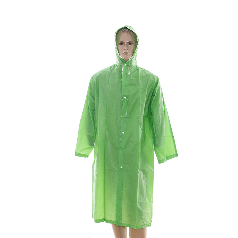 China Wholesale Pe Raincoat Manufacturer - BSCI Audited Eco-friendly Waterproof PEVA raincoat with sleeves – Tengxing