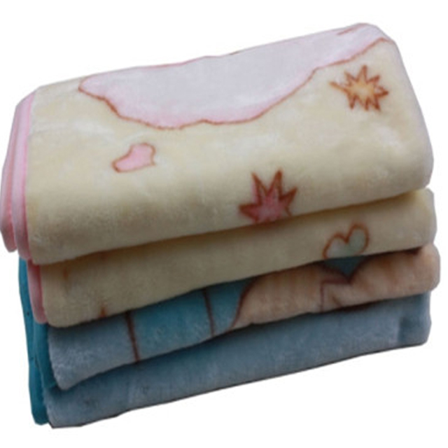 Super soft thick double fleece baby sac blanket