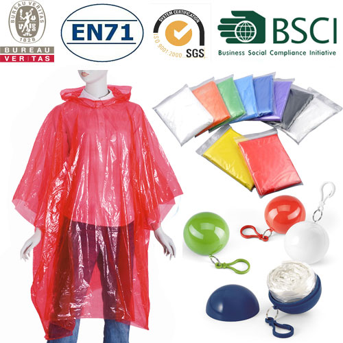 China Wholesale Plastic Poncho Manufacturers - emergent disposable pe raincoat – Tengxing