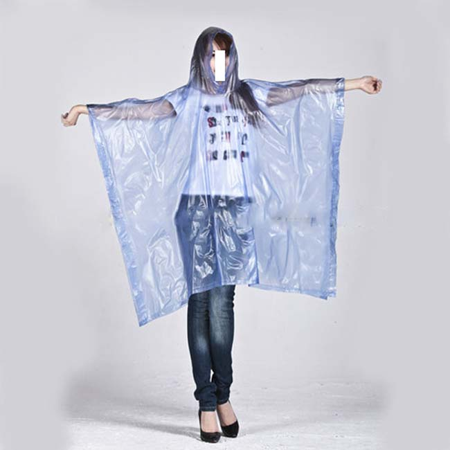 PLA Eco-friendly Rain Poncho