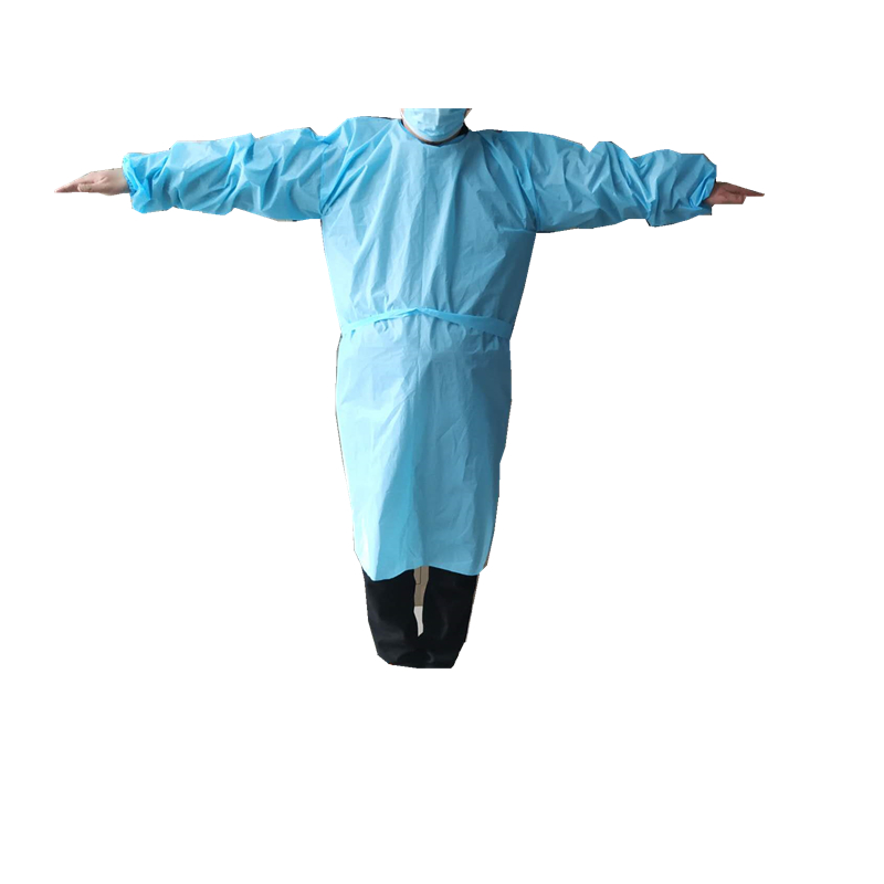 China Wholesale Surgical Gowns Manufacturers - Waterproof plastic isolation gown/CPE isolation gown with CE and FDA – Tengxing