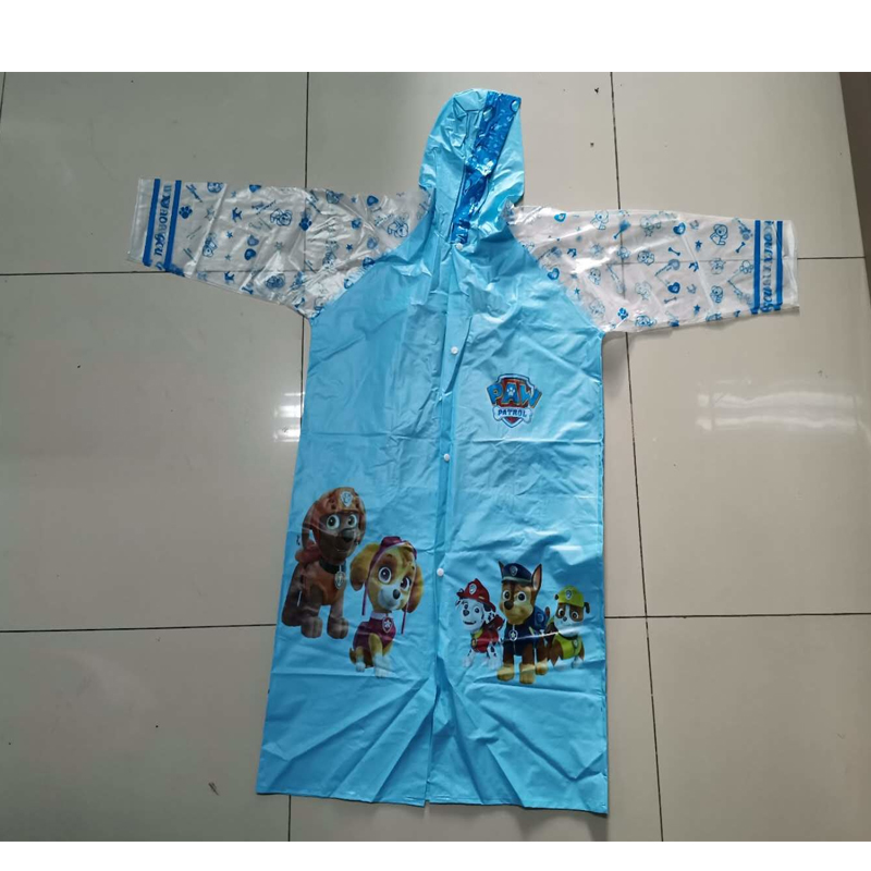 PVC Rain Coat For Kids