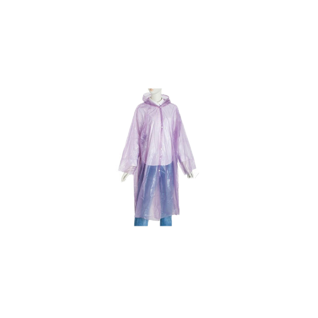 China Wholesale Pvc Rainwear Quotes - Emergency Selling Disposable Raincoat With Button – Tengxing