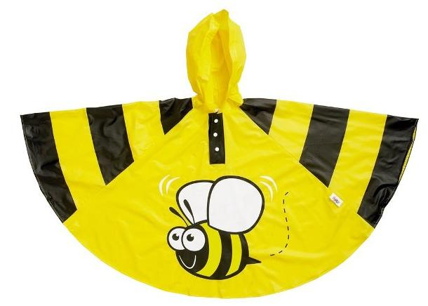 reusable waterproof pvc child rain poncho