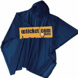 disposable pe adult rain ponchos