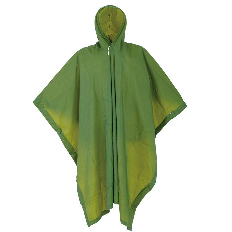 Fashion Adult Plastic PVC Outdoor Clear Rain Poncho Featured Image
