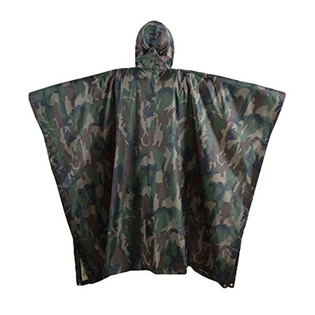 China Wholesale Poncho Raincoat Manufacturers - Waterproof Camouflage Rain Jacket Rain Poncho – Tengxing