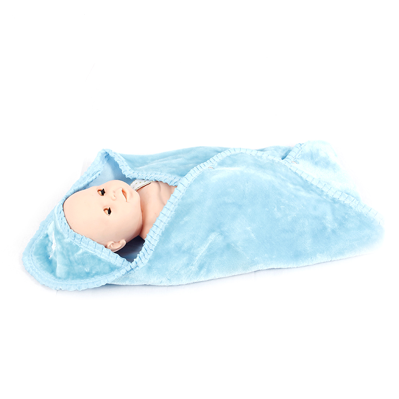 China Wholesale Baby Bed Nets Manufacturers - High quality cotton Knitted minky baby blanket – Tengxing