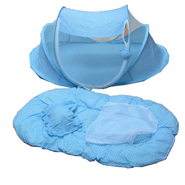 Fashion Baby Mosquito Net with Mat and Pillow