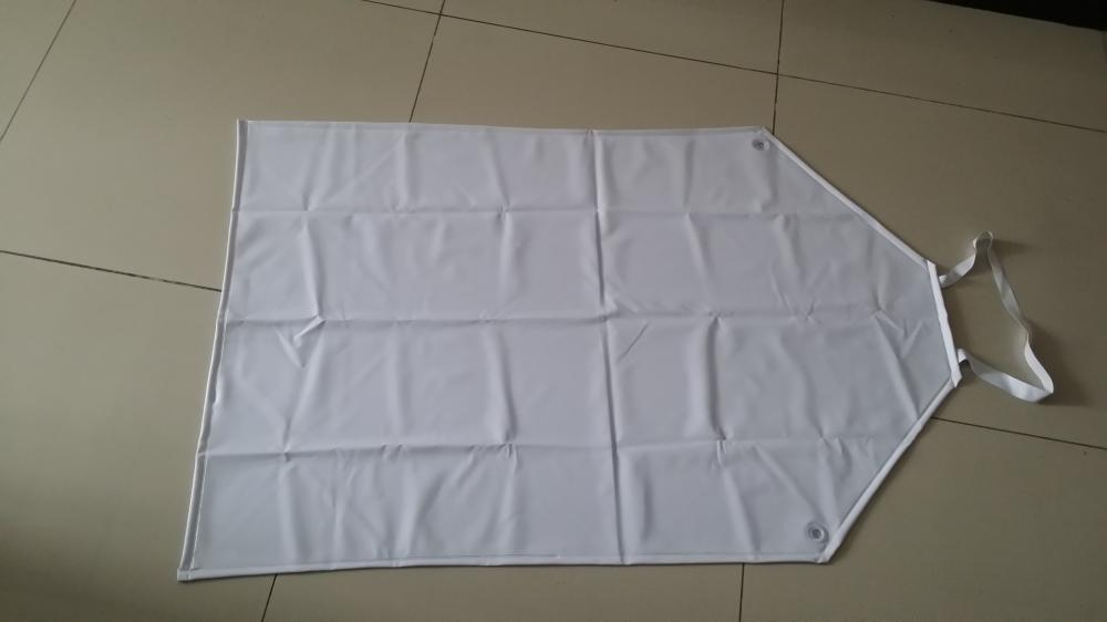 white pvc waterproof apron