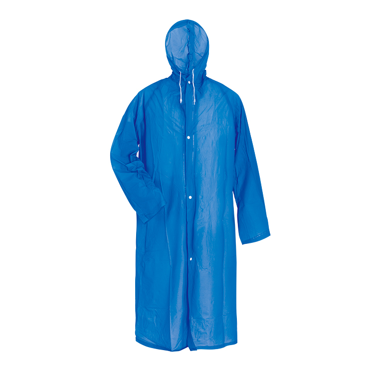 China Wholesale Black Raincoat Manufacturer - Waterproof men long raincoat factory sale – Tengxing