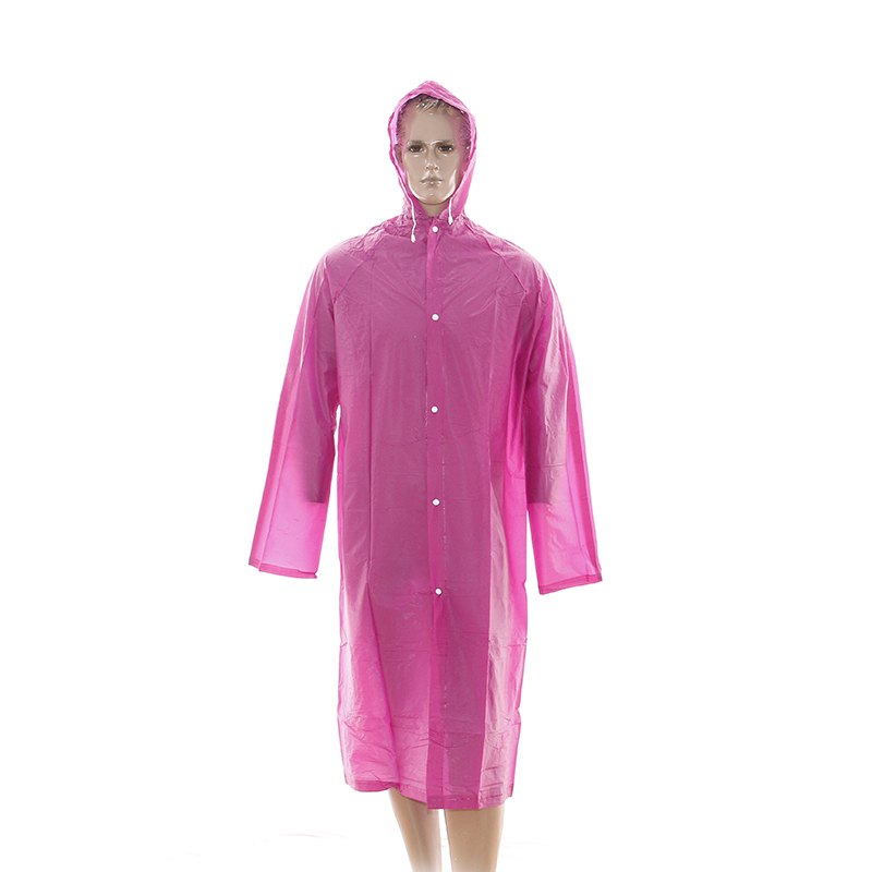 China Wholesale Pvc Rain Coat Pricelist - ECO-Friendly PEVA raincoat for travelling – Tengxing