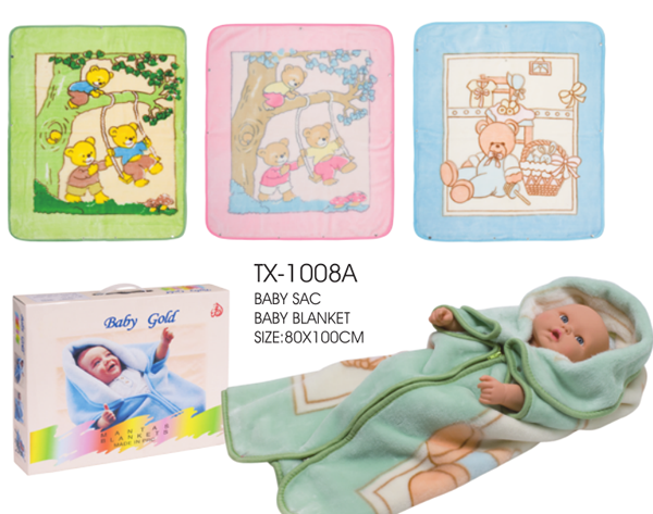Soft Muslin Baby Swaddle Blanket Baby Sac
