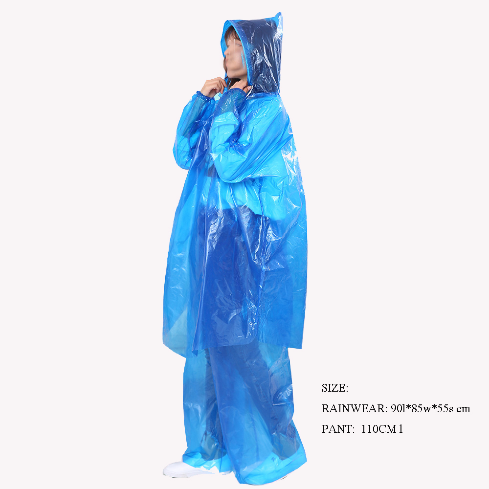 Wholesale Safety Plasty Body Coverall Rain Clothing