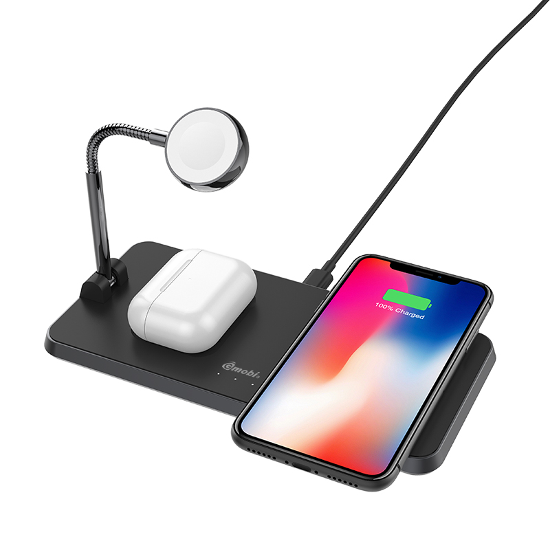 3 in 1 Qi Certified Wireless Charging Stand Featured Image