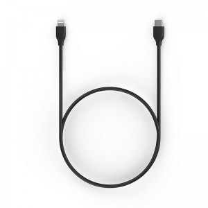 MFi certified charge/sync USB C to Lightning Cable