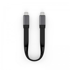 USB 3.1 C to C Gen 2 Flat Cable