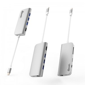 9 in 1 Multiport USB-C Hub