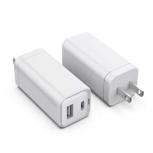 PD / QC 65W Dual Ports Compact fast Wall Charger