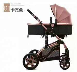 European style multifunction light weight good quality foldable 3 in 1 baby strollers with car seat