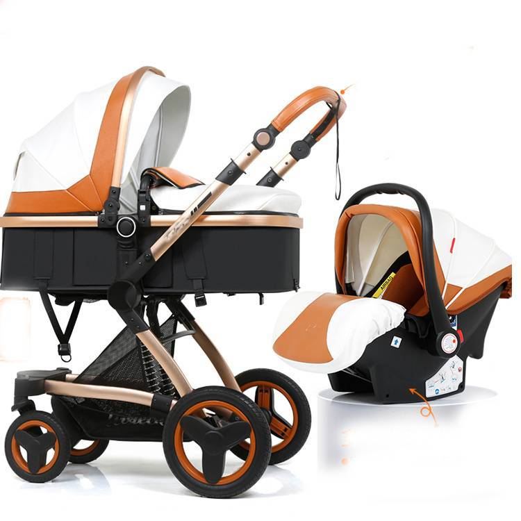 mommy & me 2 in 1 deluxe doll stroller/heated baby stroller with car seat/strollers suitable for walkers & carriers