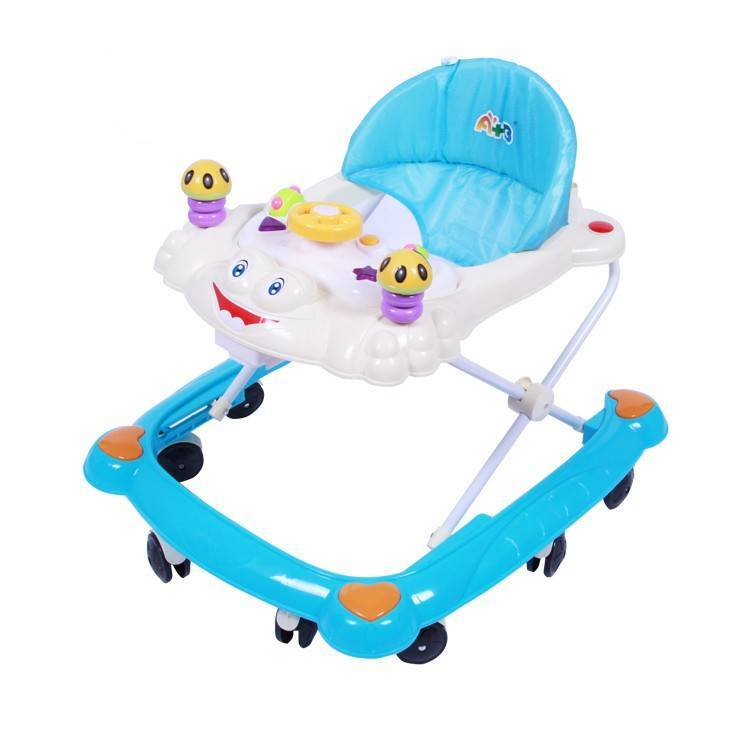 Wholesale Price Children Walker Supplier - Swivel Wheel Plastic baby walker China /Wholesale Outdoor New Model Baby Walker/Plastic toy style baby walker seat cover –  Gorgeous Bike