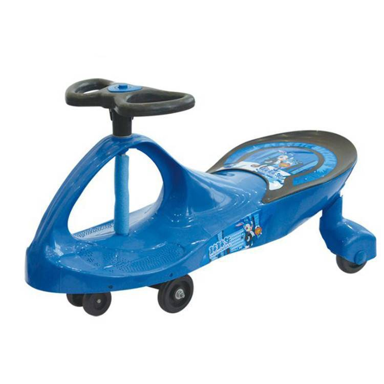wholesale bulk swing car price/most popular children happy swing car/new style classical music kids wiggle car for sale