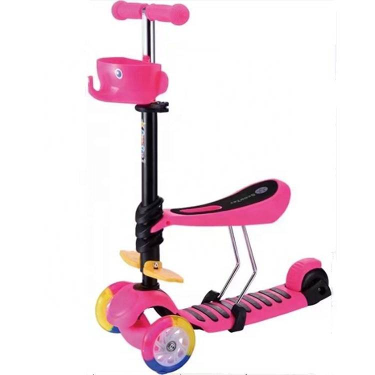 2020 Latest Design Baby Scooter 3 In 1 - china factory best quality 3 wheel children scooter with aluminum T-bar/scooter for child/scooter baby BSCI SGS EN-71 CE –  Gorgeous Bike