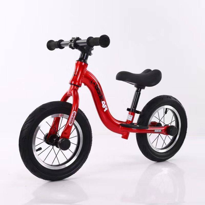 No pedals Kids Balance Bike / baby running bike / children walking balance bicycle 12inch customizable color balance cars