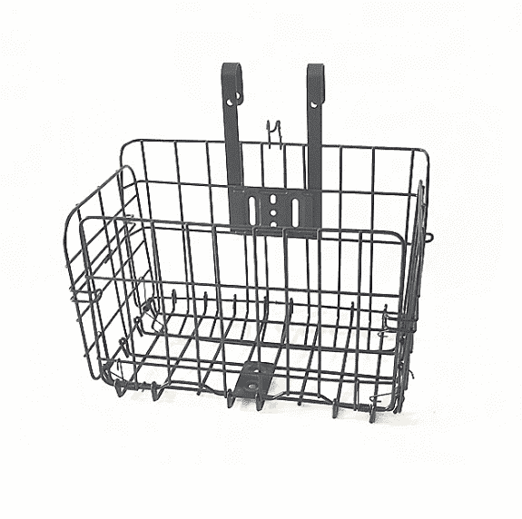 Metal Wire Mesh Bike Basket wholesale folded bike basket carriage Featured Image