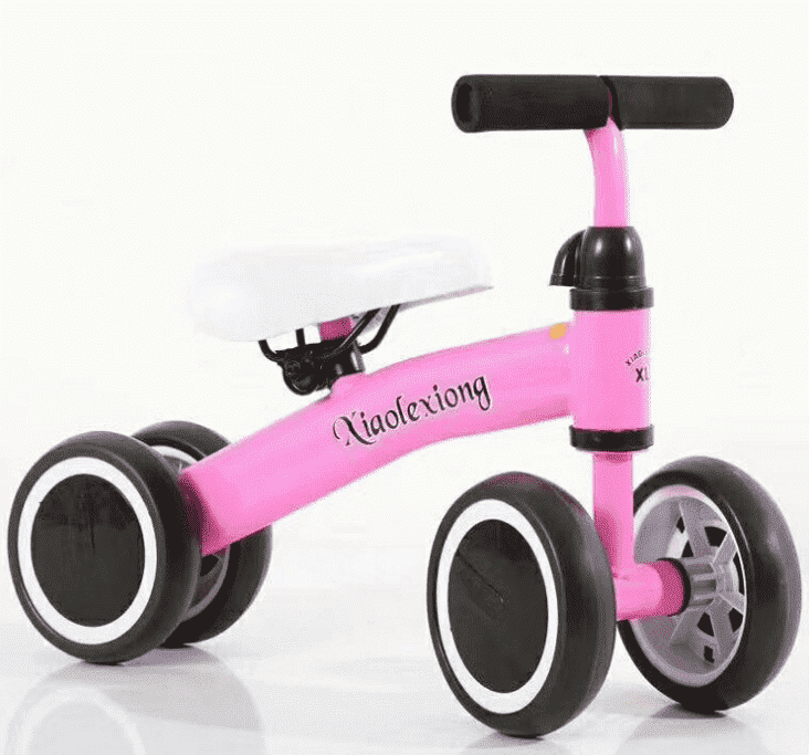 Upgrade Newest 4 Wheel Kids Scooter / Balance Bike / Swing Car