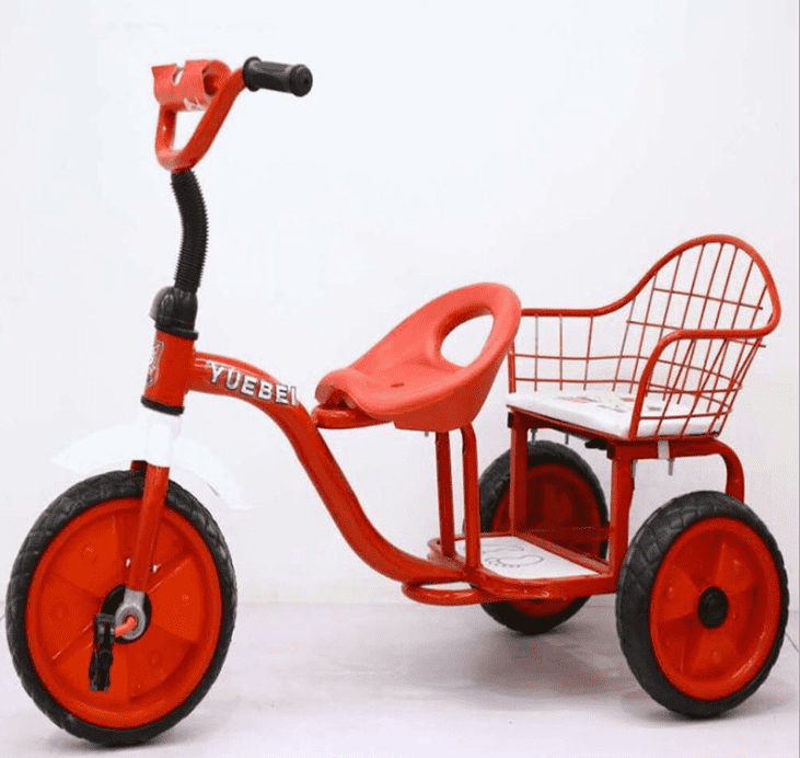 Excellent quality Children Tricycle Factory - air tire tricycle for kids  good quality children trikes with large seat plastic and mental kids tricycle on sale –  Gorgeous Bike