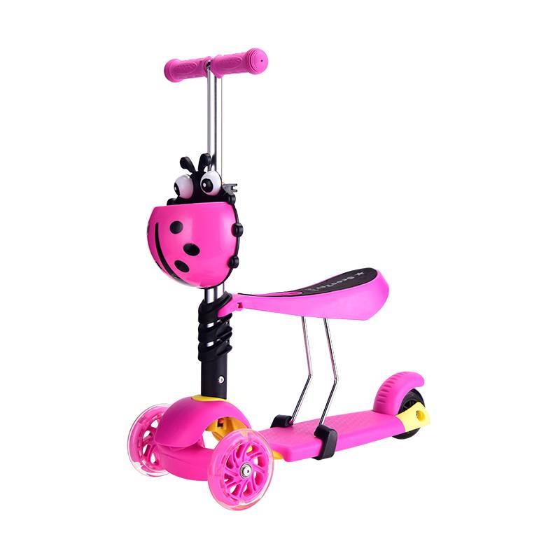 adjustable height cheap kids scooter /wholesale baby scooter with high quality/baby kick scooter with quick release