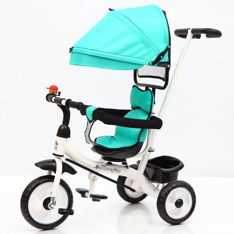 OEM China Child Tricycle Seat - New Design 4 in 1 Baby Tricycle/ Kids Tricycle with 360 Degree Rotation/merry christmas new price baby tricycle –  Gorgeous Bike
