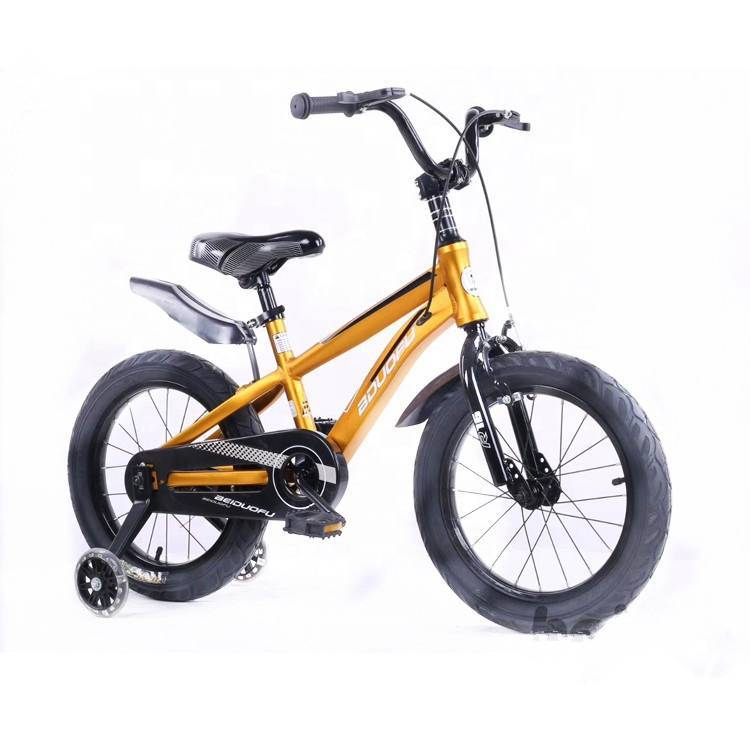 New model hot selling four wheel kid bike/latest China bicycle toys for kids/beautiful cheap cartoon kids bicycle bike