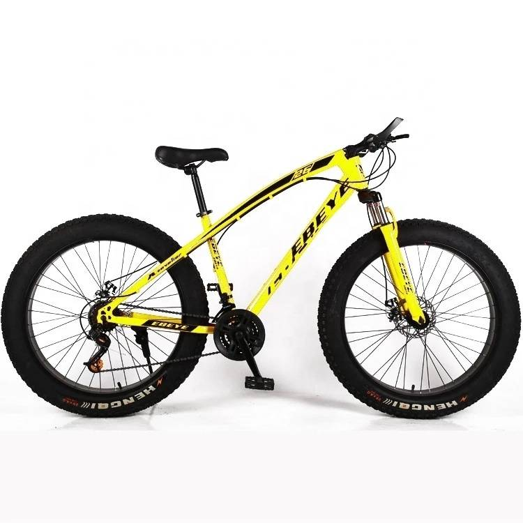 Hot selling DIY 24/26 inch fat tire Mountain bike/ snow bike/cycling with fat 4.0 tire OEM , fat tire bicycle made in China