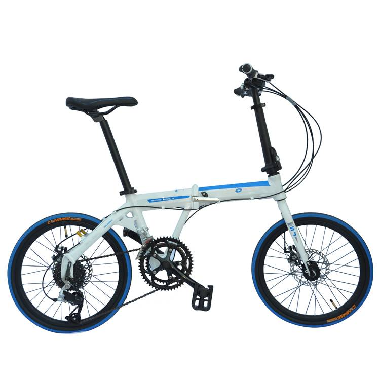 Bottom price Bicycle With Kids - Hot Selling Good Quality 20 inch Steel titanium Folding Bike and lower price folding bicycle –  Gorgeous Bike