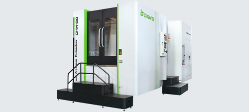 DHM HORIZONTAL MACHINING CENTER
