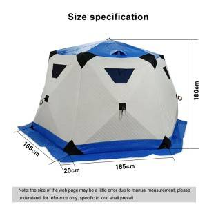 Outdoor Winter Insulated Ice Fishing Tent