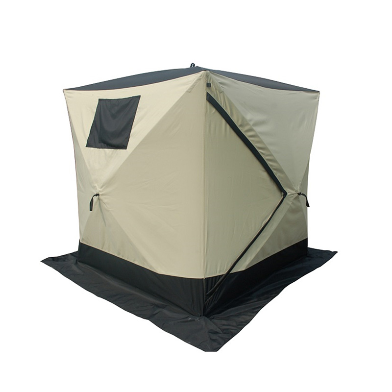 2020 wholesale price Fishing Bivvy Tent - Cube Ice  Fishing Tent – Arcadia