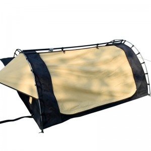 Low price for Swag Tent Deluxe - Camping canvas swag tent – Arcadia